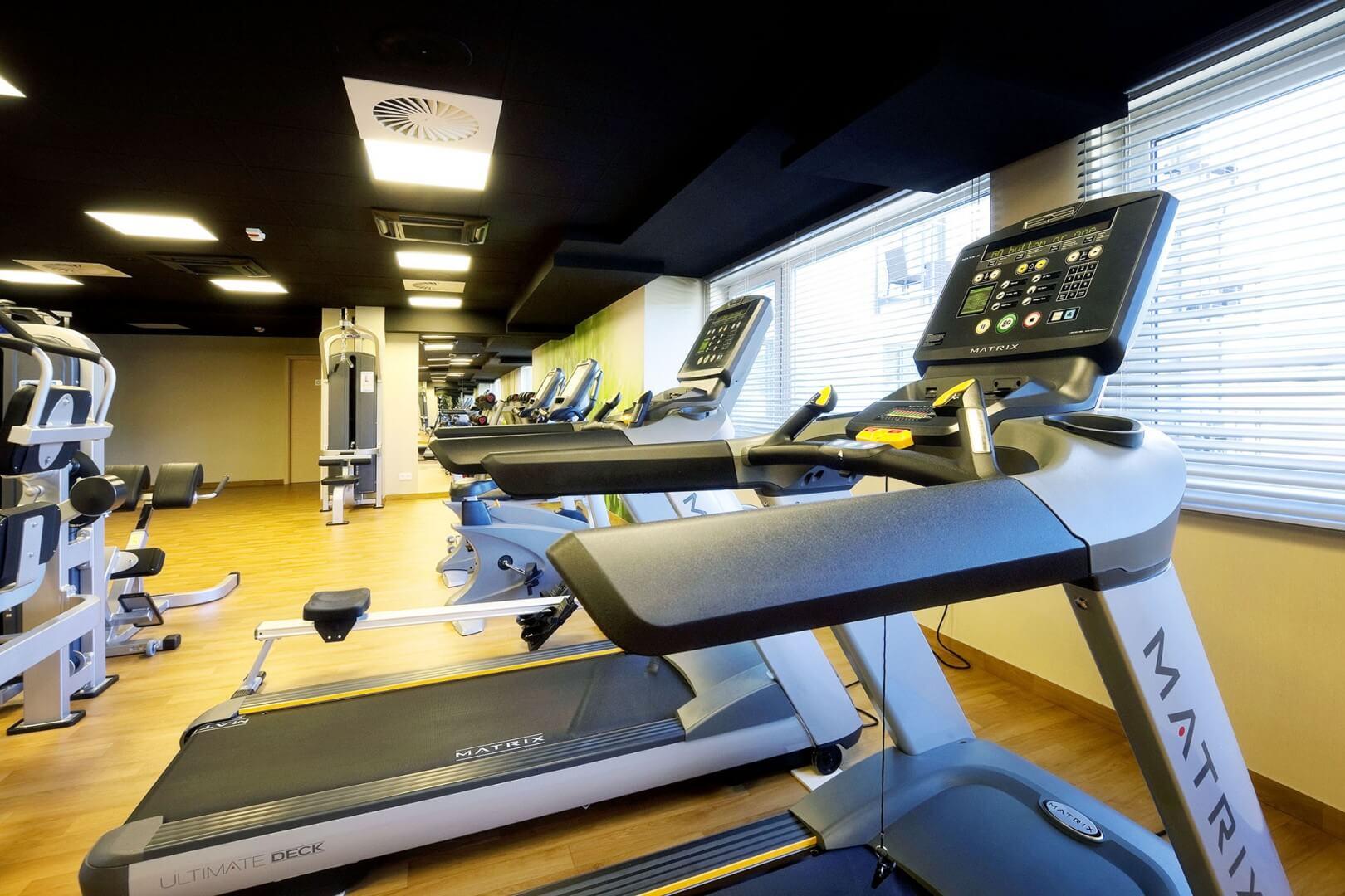 Sala fitness w Hotelu Tristan