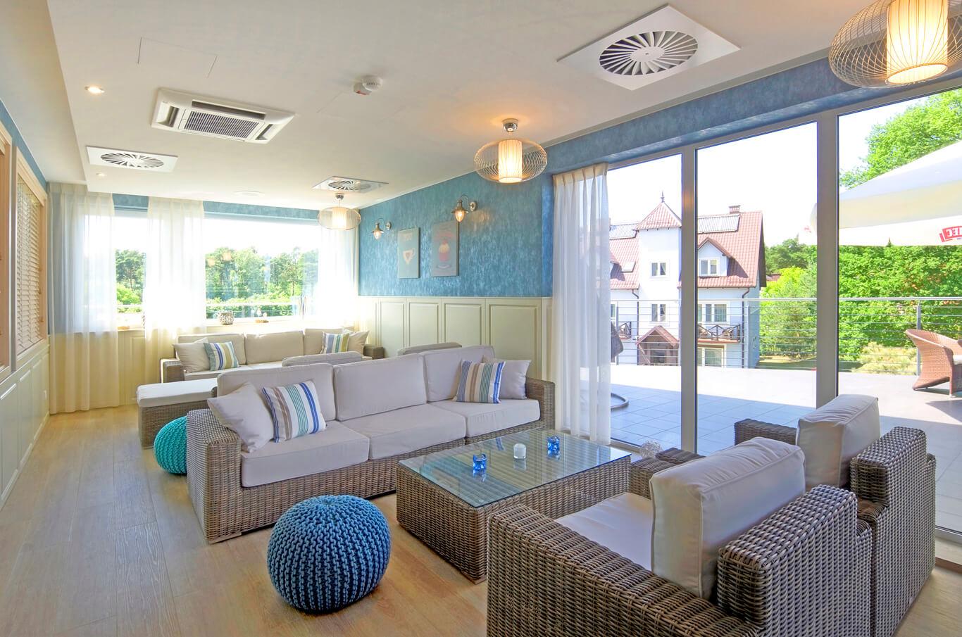 Kawiarnia Seashell w Tristan hotel & SPA