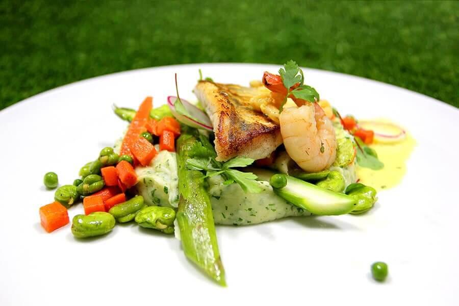 Pyszne dania w restauracji Kobaltowa Kąty Rybackie