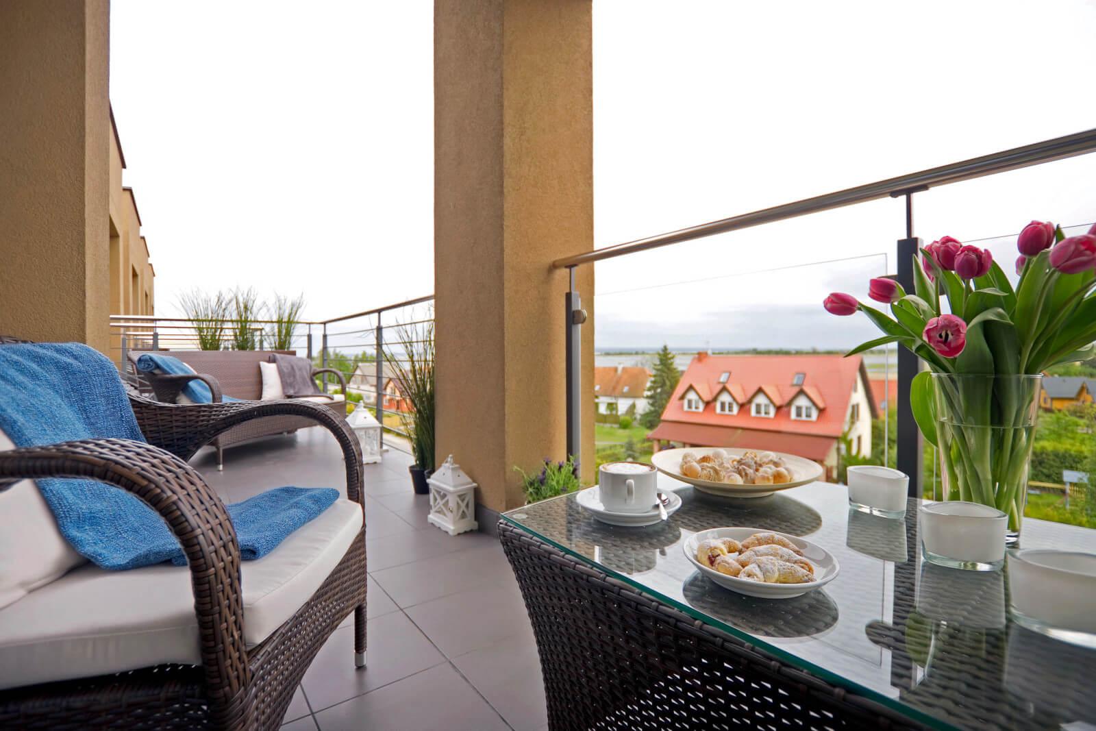 Balkon w pokoju Standard Plus