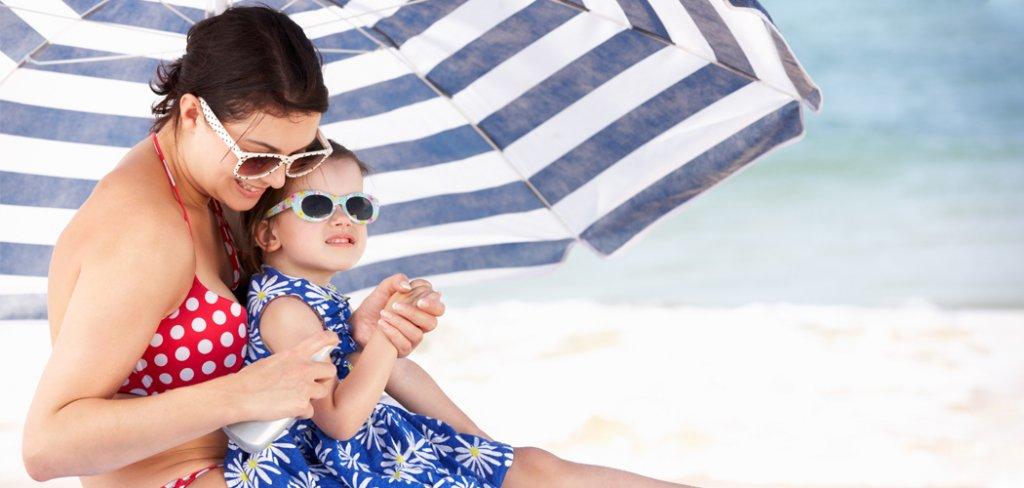 upały plaża namorzem lato
