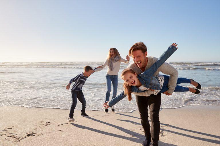 wrzesień nad morzem rodzinnie