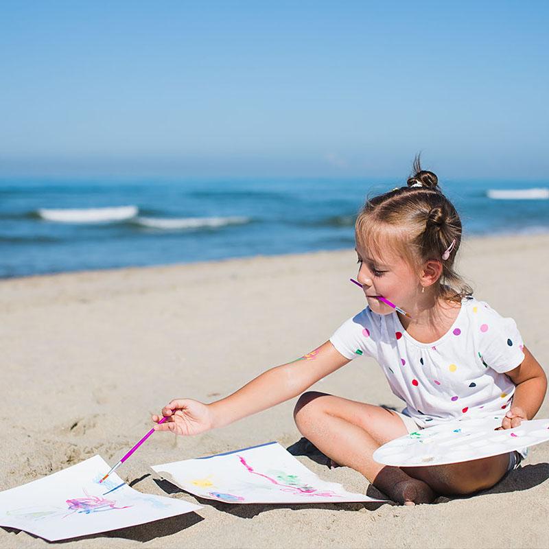 Kreatywnie dla dzieci nad morzem