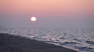 Zachód słońca w Kątach Rybackich